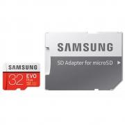 Samsung 32 GB microSDHC Class 10 UHS-I Evo Plus + SD адаптер MB-MC32GA