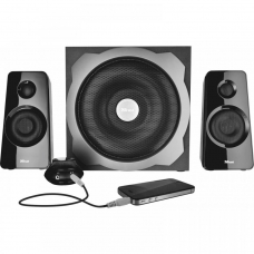 Trust Tytan 2.1 Subwoofer Speaker Set Black (19019)