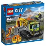 LEGO City Гусеничный трактор исследователей вулканов (60122)