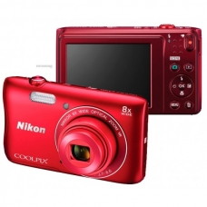 Nikon Coolpix S3700 Red
