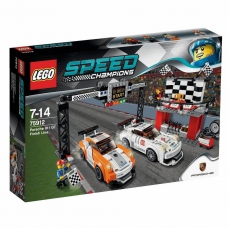 LEGO Speed Champions Финишная линия гонки Porsche 911 GT (75912)