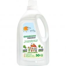 Green&Clean Professional гель для стирки детского белья 1,5 л/50 стирок
