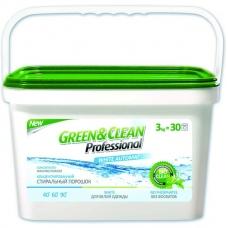 Green&Clean Для цветного белья ведро 3 кг (30 стирок)